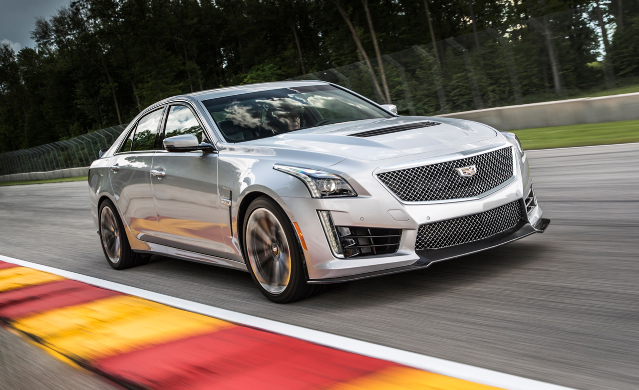 What Sets The 2016 Cadillac Cts V Apart From The Cts Moore Cadillac