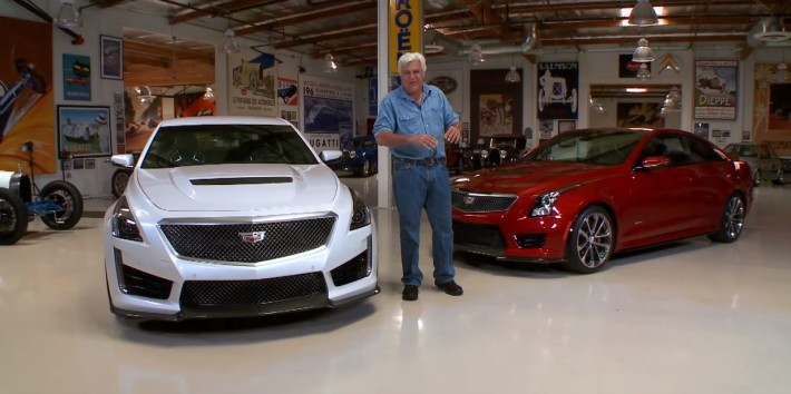 Jay Leno and 2016 Cadillac CTS-V Chantilly