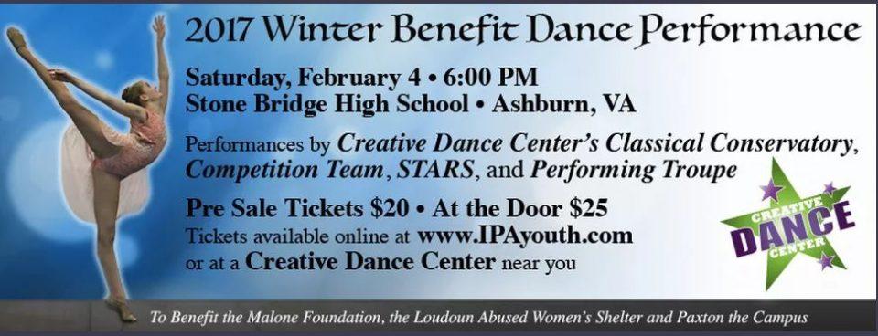 Winter Benefit at the Creative Dance Center Ashburn