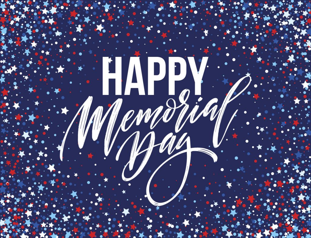 Happy Memorial Day card