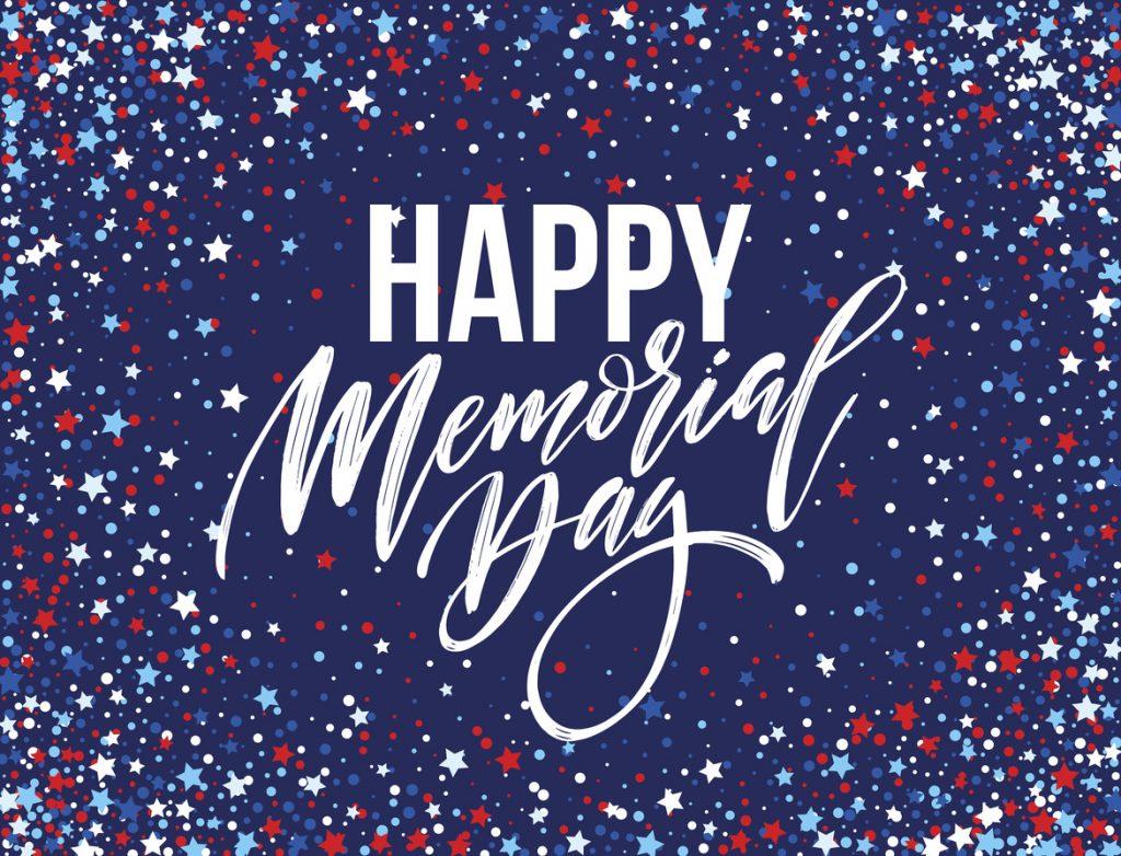 Happy Memorial Day card